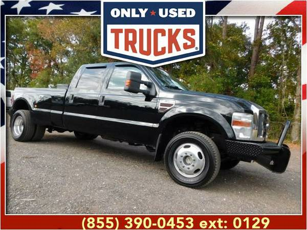2008 *Ford F350* *F-350*F 350* XLT 4x4 Super Duty Dually (8cyl, 6.4L,