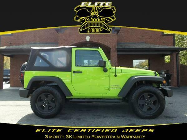 2012 *Jeep* *Wrangler* Sport