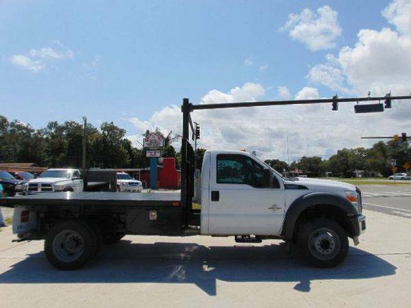 2011 Ford F-550 XL 10 FT FLAT BED