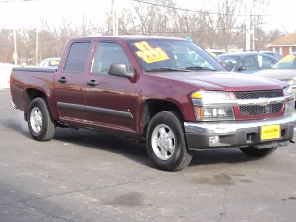 2007 Chevy Colorado Crew Cab Low Miles