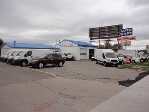 We specialize in the sale of Cargo Vans and Work Trucks , Cargo Van