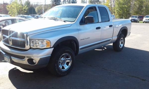 Dodge ram 1500 4x4 lower mileage