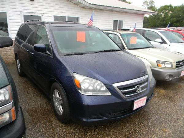 2007 Honda Odyssey 5dr EX with Pwr ventilated front disc brakes,...