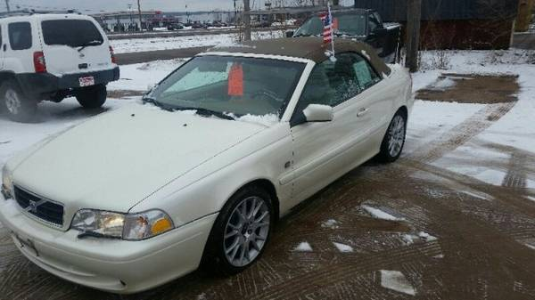 2004 Volvo C70 2dr Conv 2.3L Turbo Auto with Front/rear stabilizer...