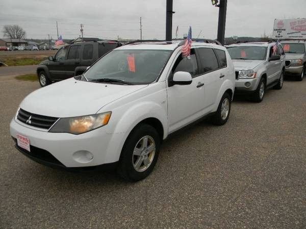2007 Mitsubishi Outlander AWD 4dr LS with Infared reduction glass
