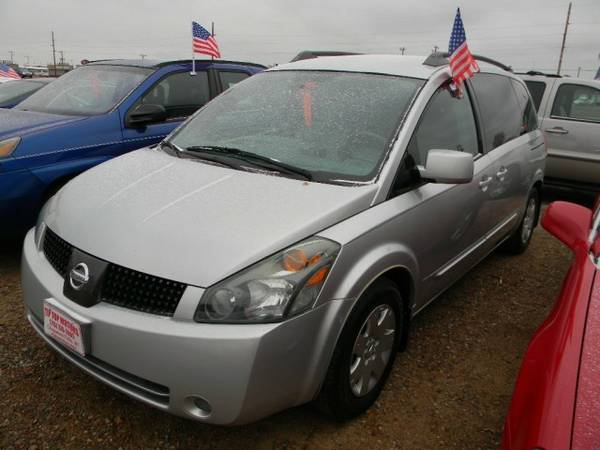 2004 Nissan Quest 4dr Van SL with Pwr front windows w/one-touch...
