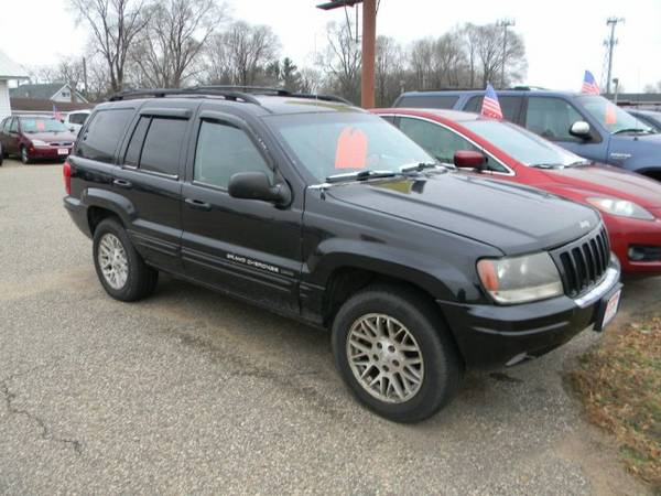 2004 Jeep Grand Cherokee 4dr Limited 4WD with Passenger assist handles