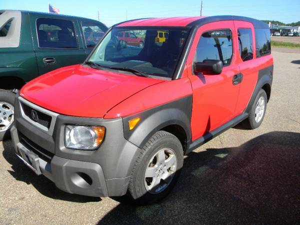 2005 Honda Element 4WD EX AT with Rear privacy glass