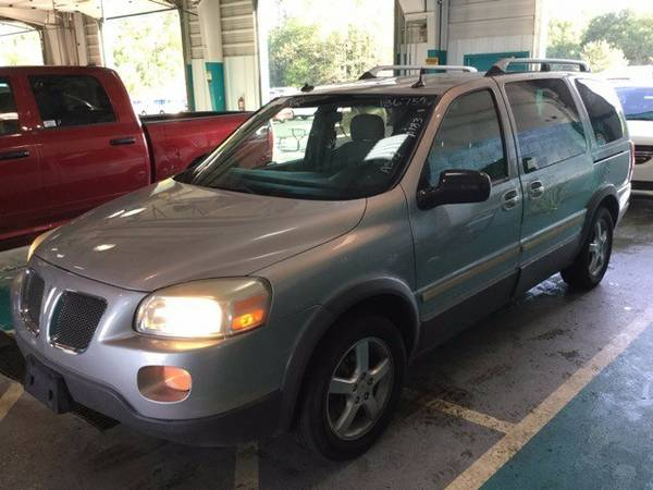 2005 Pontiac Montana SV6 4dr Ext WB w/1SB Pkg with Mirror, inside...