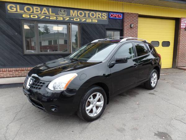 2008 NISSAN ROGUE SL 1 OWNER --AWD--