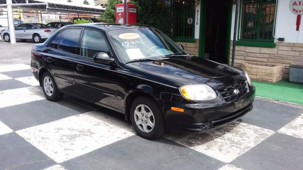 2005 HYUNDAI ACCENT GAS SAVER (WE HAVE TWO)