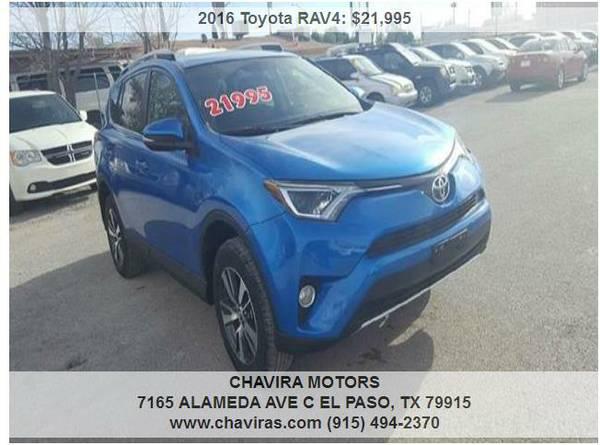 2016 Toyota RAV4 XLE 4dr SUV 27k miles