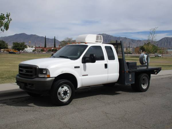 2004 FORD F450 DIESEL 4X4 EXT CAB DULLY DUALLY WITH 29K ORIGINAL MILES