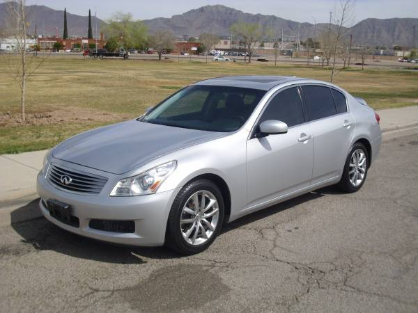 2008 INFINITI G35 LUXURY SPORT SEDAN! REDUCED FROM $11500 TO $9500!