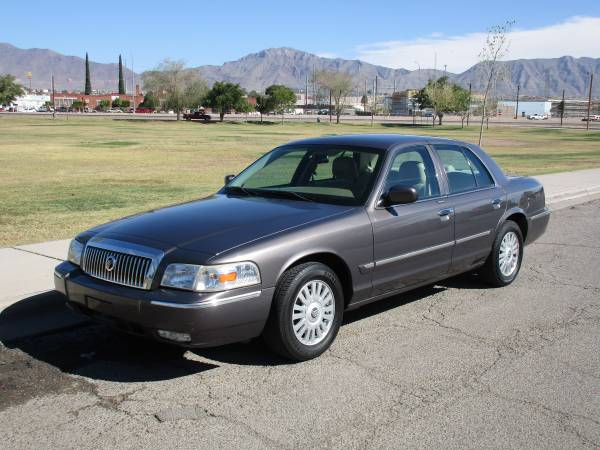 2007 MERCURY GRAND MARQUIS WITH ONLY 89K MILES! SMOOTH RIDE! $0 DOWN!