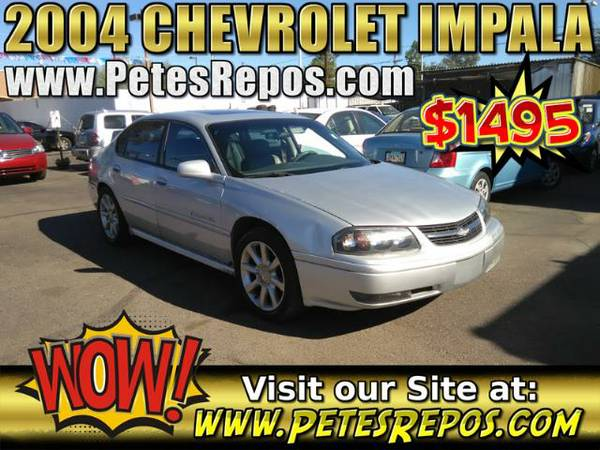 2004 Chevy Impala - Priced To Sell This Chevrolet