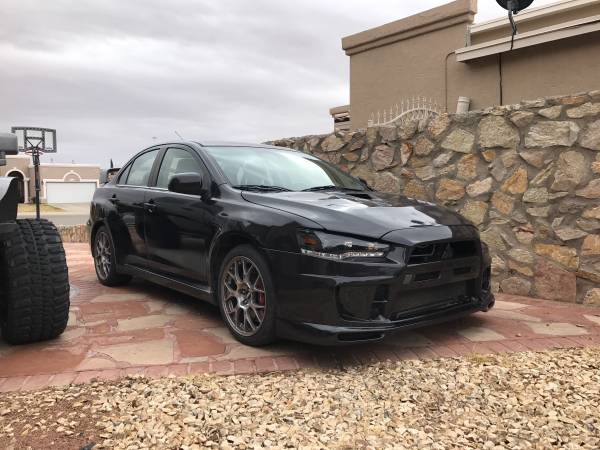 2008 Mitsubishi Lancer Evolution MR Turbo