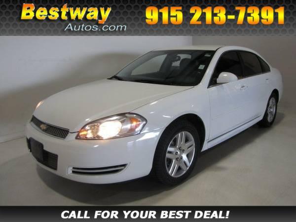 *2013* *Chevrolet Impala* *LT* White