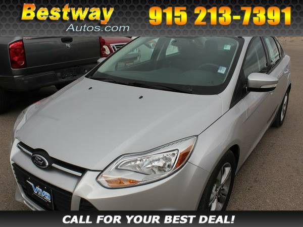 *2012* *Ford Focus* *SEL* Ingot Silver Metallic