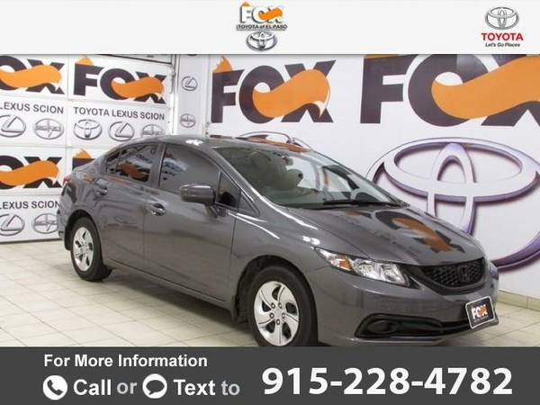 2014 *Honda* *Civic* *Sedan* *LX* 36k miles