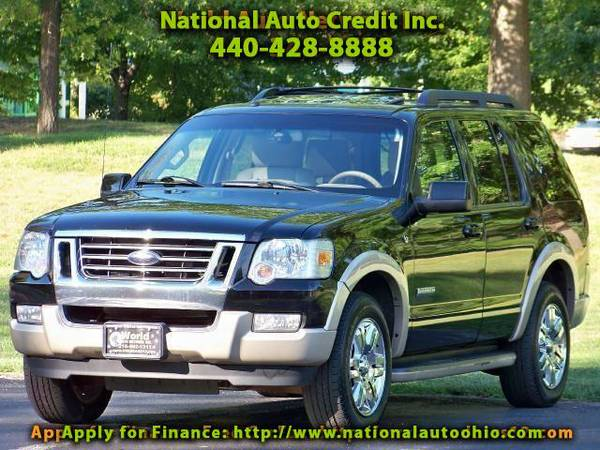 2008 Ford Explorer Eddie Bauer 4.6L 4WD. Power & Heated Leather Seats