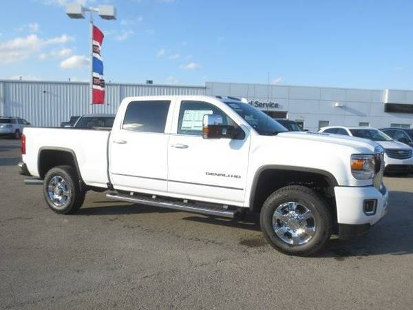 2016 *GMC Sierra 3500HD* Denali (Summit White)