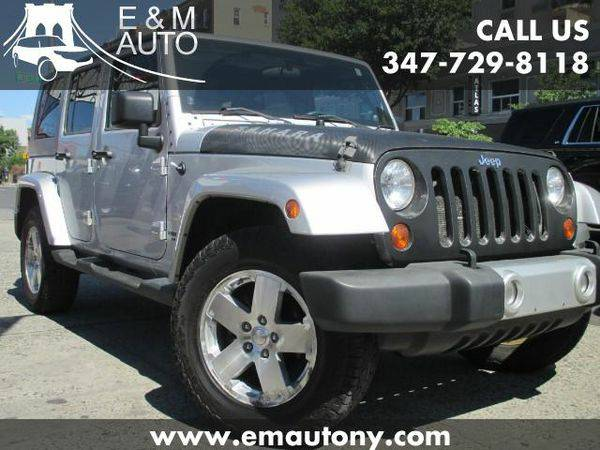 2008 *Jeep* *Wrangler* Unlimited Sahara 4WD