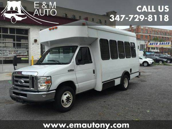 2008 *Ford* *Shuttle* *Bus* E-350 Super Duty Turtle Top