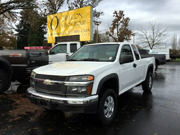 2008 Chevy Colorado Ext Cab 4x4 4WD - 4Cyl Auto - *LOW MI* 50k WRNTY
