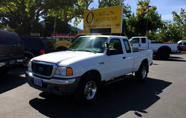 2005 Ford Ranger XLT Super / Ext Cab 4WD 4x4 V6 - $0 Down, $108/mo!!