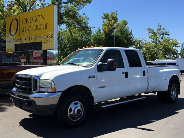 2004 Ford F350 Super Duty Crew Cab DUALLY LARIAT 4x4 4WD FX4 Lthr Roof