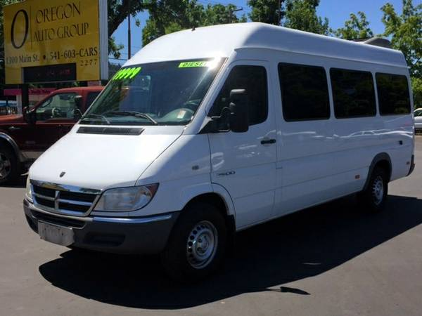 2006 Dodge Sprinter 2500 Diesel Shuttle Bus - 12 Pass Super Hi - RARE!