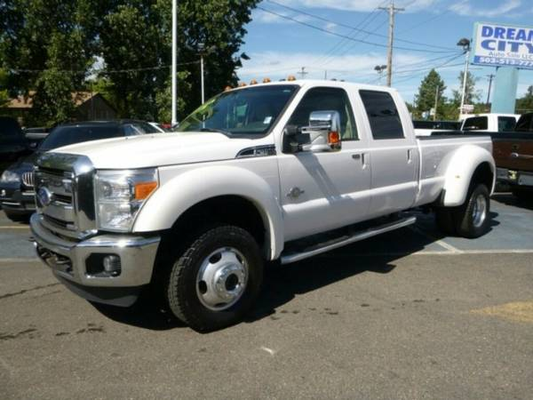 2011 *Ford* *F-450 Super Duty* *Lariat 4x4* Pickup *4wd* *diesel*