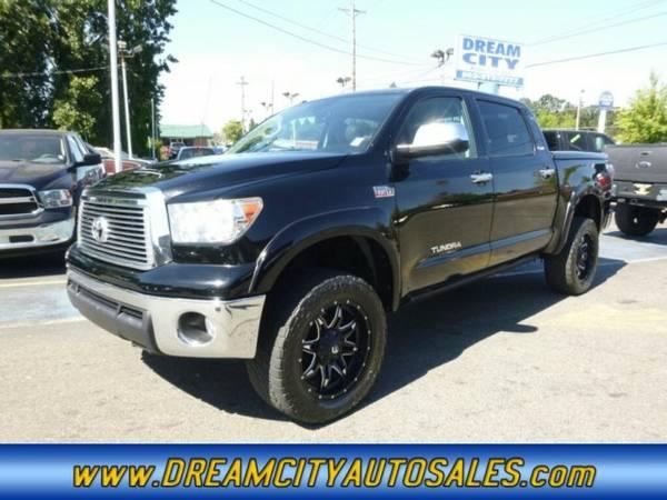 2011 *Toyota* *Tundra CrewMax* *Platinum 4x4* Pickup *4wd*