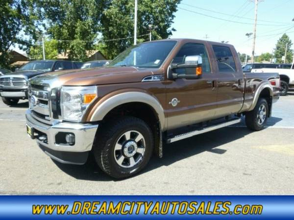 2011 *Ford* *F-350 Super Duty* *Lariat FX4* Pickup *diesel* *F350*