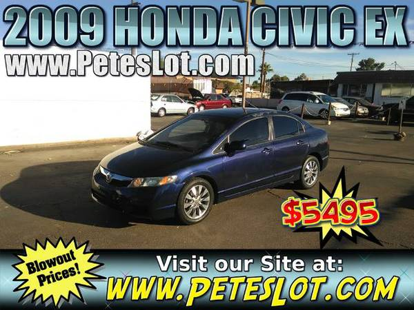 2009 Honda Civic EX __ Great 09 Honda