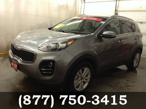 2017 Kia Sportage Mineral Silver WOW... GREAT DEAL!