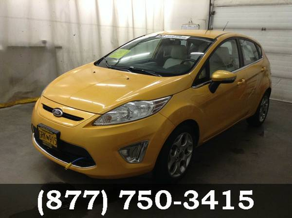 2013 Ford Fiesta YELLOW BLAZE *Priced to Sell Now!!*