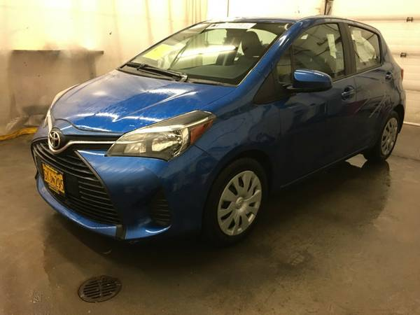 2015 Toyota Yaris Blue Streak Metallic LOW PRICE....WOW!!!!