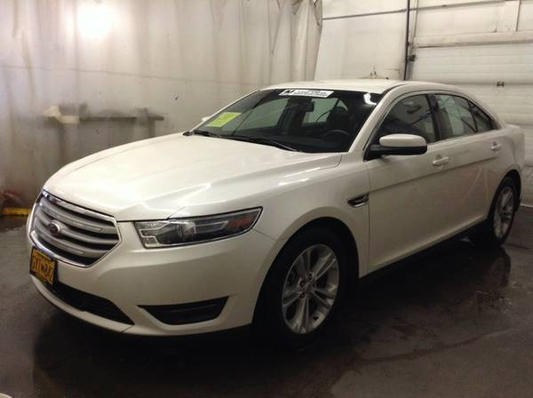 2015 Ford Taurus WHITE PLATINUM *Priced to Sell Now!!*