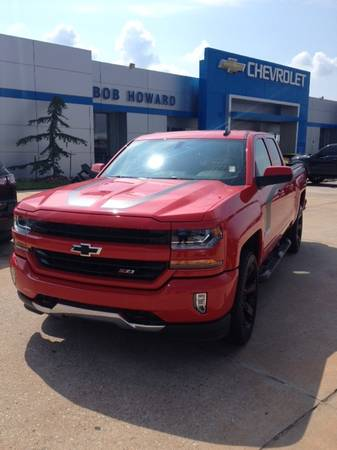 2016 *RALLY 2 EDITION* CHEVY SILVERADO Z71 4X4 CUSTOM