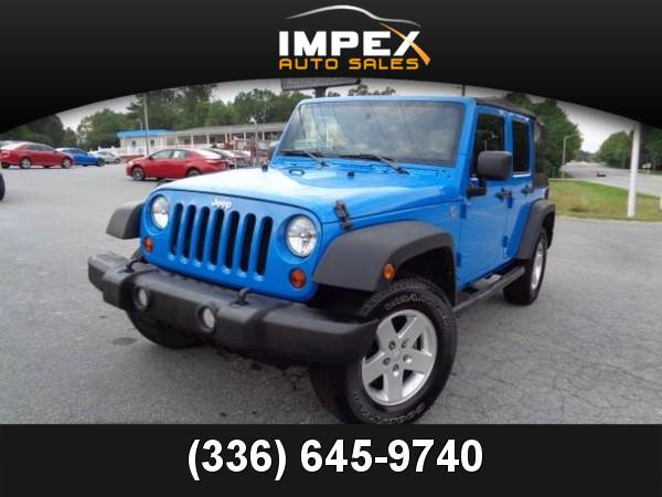 2011 *Jeep* *Wrangler* *Unlimited Sport* 4WD V6 SUV Utility 11