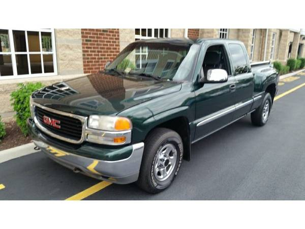 2001 GMC SIERRA 1500 SLE EXT. CAB LONG BED 4WD,1st Time Buyers, Good/B