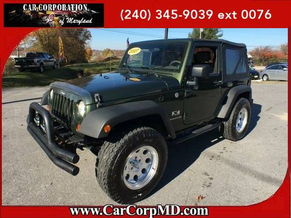 2007 *Jeep Wrangler* X BAD CREDIT? NO PROBLEM!