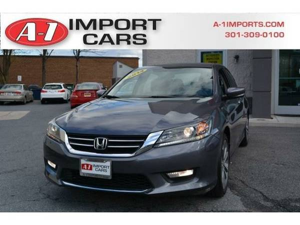 2014 *Honda Accord Sedan* 4dr I4 Manual Sport (Modern Steel Metallic)