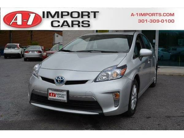 2013 *Toyota Prius Plug-In* 5dr Hatchback (Classic Silver Metallic)