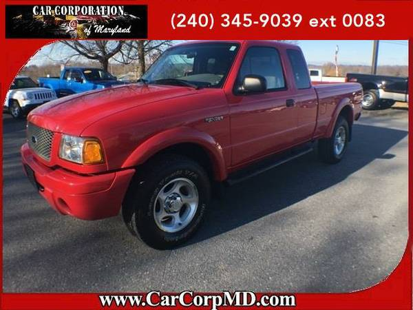 2002 *Ford Ranger* Edge BAD CREDIT? NO PROBLEM!