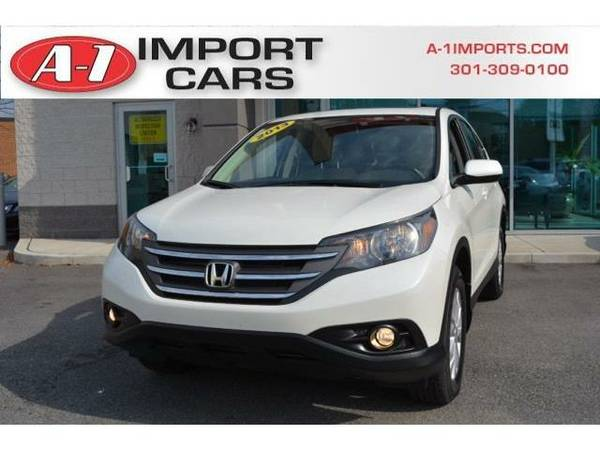 2013 *Honda CR-V* AWD 5dr EX (White Diamond Pearl)