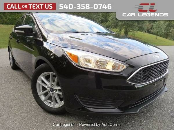 2016 Ford Focus HATCHBACK 4-DR Hatchback Focus Ford
