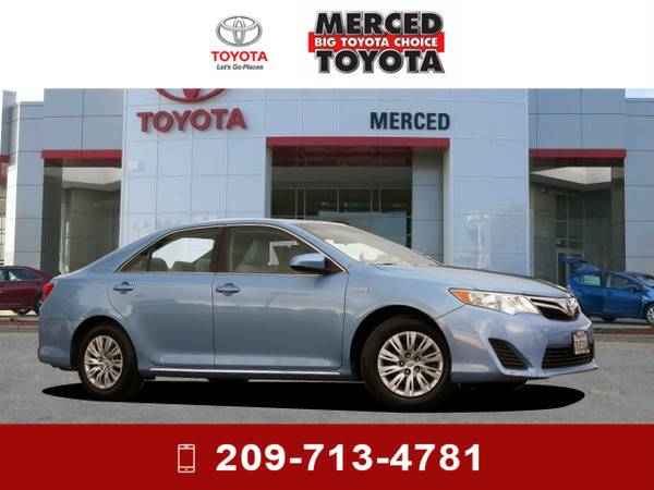 *2013* *Toyota Camry Hybrid* *Clearwater Blue*